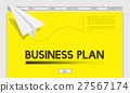 Paper Rocket Startup Business Concept 27567174