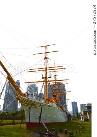 """Sailing ship """"Meiji Maru"""" (Tokyo University of Marine Science and Ecchi Island Campus / Echinoshima, Koto-ku, Tokyo) 27572824"""