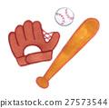 baseball, baseballs, glove 27573544