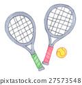 網球 網球拍 球 27573548