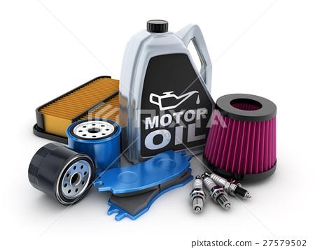 Expendable parts car 27579502