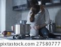 廚房 夫婦 一對 27580777