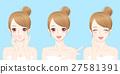 beauty cartoon skincare woman 27581391