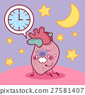 heart feel tired with overwork 27581407