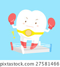tooth wear boxing gloves 27581466