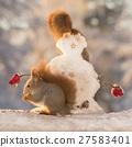 snowman with head fashion 27583401