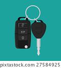 vector, car, key 27584925