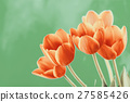 Red And Orange Tulips Flowers Bouquet 27585426