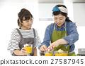 요리하는 여자 요리 교실 27587945