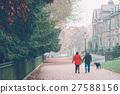 老人散步 27588156