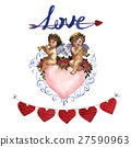 Happy Valentines Day love celebration in a 27590963