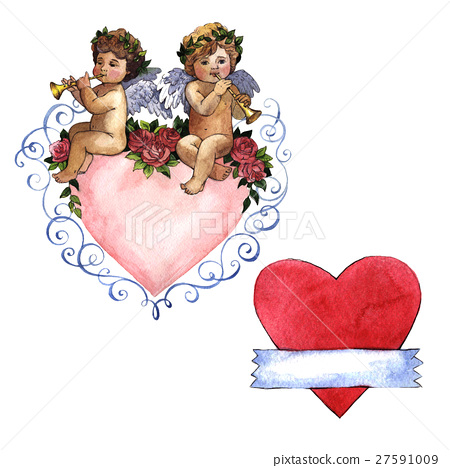 Happy Valentines Day love celebration in a 27591009