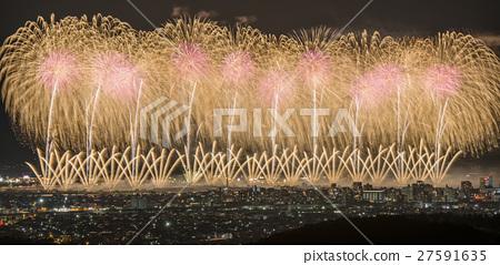 [Niigata] Nagaoka Festival Large Fireworks Festival-Phoenix- 27591635