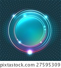 Energy abstract glow circles 27595309