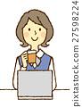 白領 電腦線上鑑識證據擷取器 咖啡 27598224