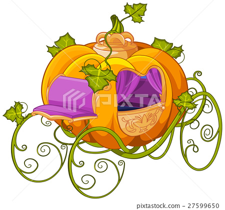 Pumpkin Turn into a Carriage for Cinderella 27599650