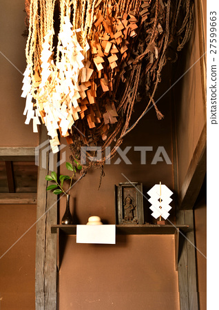 New Year decoration in the kitchen 27599663