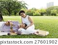 Senior Couple Leisure Outside Concept 27601902