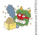 節日 播種豆子 魔鬼 27607021