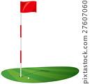 高爾夫 球 綠 27607060