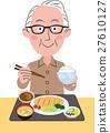 할아버지의 식사 돈까스 정식 27610127