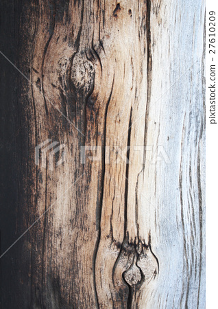 Texture of old wooden board 27610209