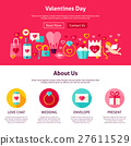 Valentine Day Web Design 27611529