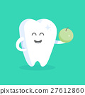 tooth cartoon vector 27612860