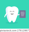 vector cartoon tooth 27612867