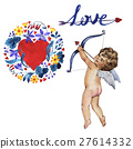 Happy Valentines Day love celebration in a 27614332