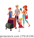 travel family illustration 27616196