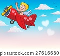 Airplane with Cupid theme image 4 27616680