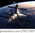 Space Station In Outer Space 27617367