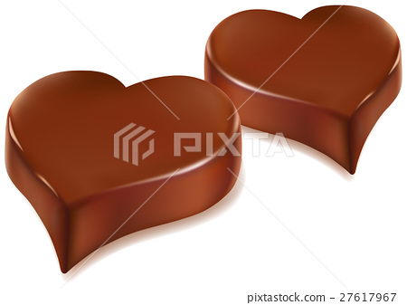 chocolate candy heart 27617967