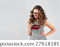 music, fun, woman 27618385