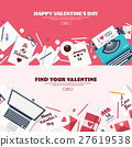 heart, love, typewriter 27619538