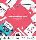 heart, love, typewriter 27619576