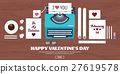 heart, love, typewriter 27619578