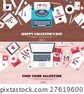 heart, love, typewriter 27619600