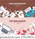 heart, love, typewriter 27619631