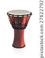 Djembe - ethnic wooden drum 27622792