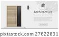 Elements of architecture , front door background 1 27622831