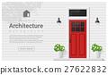 Elements of architecture , front door background 2 27622832