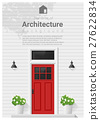 Elements of architecture , front door background 4 27622834