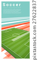 Football field graphic background 6 27622837