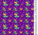 mardi, pattern, seamless 27625543