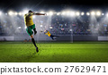 Hot moments of soccer match 27629471