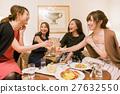 酒店女孩派对聚会敬酒 27632550