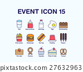 icon, Beverage, food 27632963