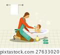 洗澡 浴室 家庭 27633020